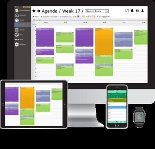 De CombinatiePlanner werkt op PC, tablet en mobiele telefoon. Voor de mobiele telefoon is een native mobiele app ontwikkeld.